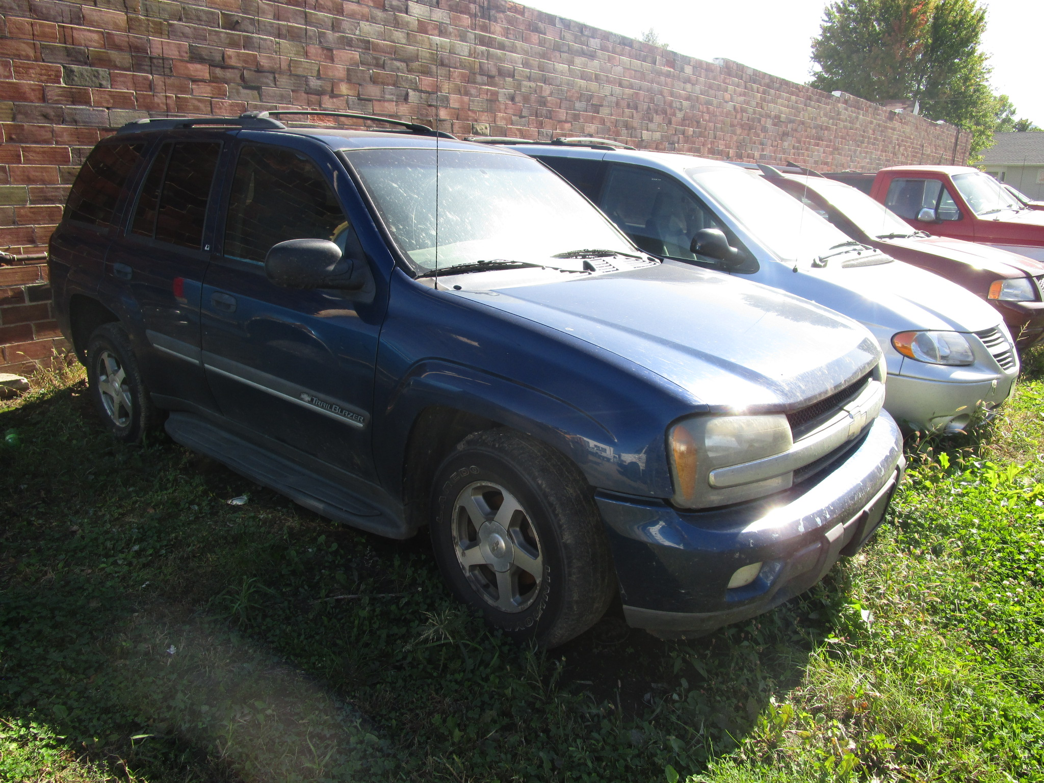 2002 CHEVROLET TRAILBLAZER $2,995